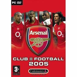Club Football 2005: Arsenal FC na progamingshop.sk