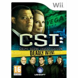 CSI Crime Scene Investigation: Deadly Intent