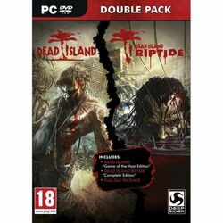 Dead Island CZ + Dead Island: Riptide CZ (Double Pack) na progamingshop.sk