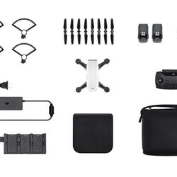 DJI Spark, Fly More Combo, Alpine White - DJIS0200C