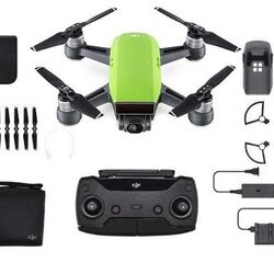 DJI Spark, Fly More Combo, Meadow Green version - DJIS0202C