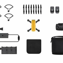 DJI Spark, Fly More Combo, Sunrise Yellow - DJIS0204C