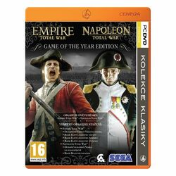 Empire & Napoleon: Total War CZ (Game of the Year Edition) na progamingshop.sk