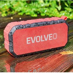 EVOLVEO Armor FX5, outdoorový Bluetooth reproduktor, BlackRed