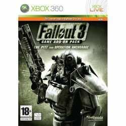 Fallout 3 Game Add-on Pack: The Pitt and Operation Anchorage na progamingshop.sk