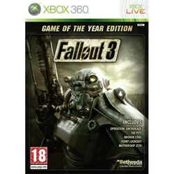 Fallout 3 (Game of the Year Edition) [XBOX 360] - BAZÁR (použitý tovar) na progamingshop.sk