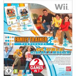 Family Trainer: Double Challenge + podložka