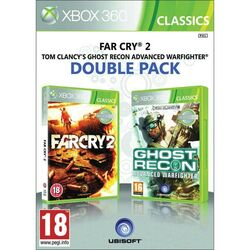 Far Cry 2 + Tom Clancy's Ghost Recon: Advanced Warfighter  na progamingshop.sk