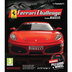 Ferrari Challenge Trofeo Pirelli + PS3 Game Wheel
