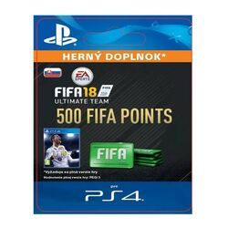 FIFA 18 Ultimate Team - 500 FIFA Points SK