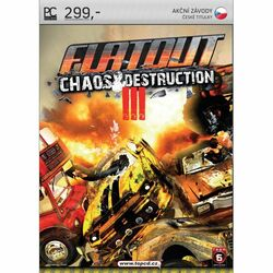 FlatOut 3: Chaos & Destruction CZ na progamingshop.sk