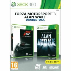 Forza Motorsport 3 CZ + Alan Wake (Double Pack)