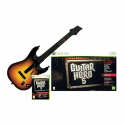 Guitar Hero 5 + gitara