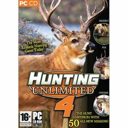 Hunting Unlimited 4 na progamingshop.sk
