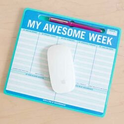 Knock Knock Mousepad My Awesome Week Pen-to-Paper