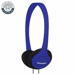 Koss KPH7 Colors On-Ear Headphones, blue