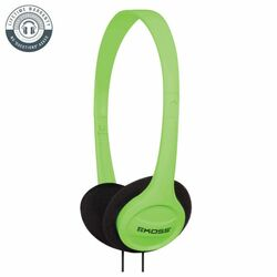 Koss KPH7 Colors On-Ear Headphones, green