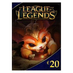 League of Legends elektronická peňaženka 20 € (2800 Riot Points)