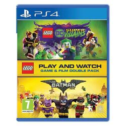 LEGO DC Super-Villains (Game and Film Double Pack)