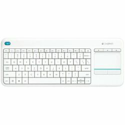 Logitech Wireless Living-Room Keyboard K400 Plus, White, US