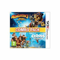 Madagascar 3: Europe's Most Wanted + The Croods: Prehistoric Party (Combo Pack)