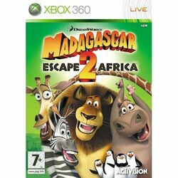 Madagascar: Escape 2 Africa na progamingshop.sk