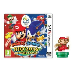 Mario & Sonic at the Rio 2016 Olympic Games + amiibo Classic Colours Mario