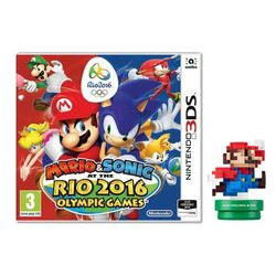 Mario & Sonic at the Rio 2016 Olympic Games + amiibo Modern Colours Mario