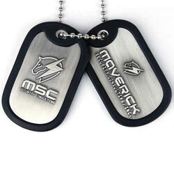 Metal Gear Rising Dog with ball chain MSC Logo