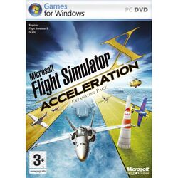 Microsoft Flight Simulator X: Acceleration na progamingshop.sk