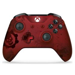 Microsoft Xbox One S Wireless Controller (Gears of War 4 Crimson Omen Limited Edition )