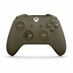 Microsoft Xbox One S Wireless Controller, green/orange