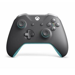 Microsoft Xbox One S Wireless Controller, grey/blue na progamingshop.sk