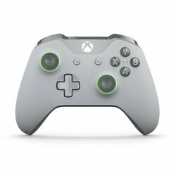 Microsoft Xbox One S Wireless Controller, grey/green