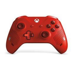 Microsoft Xbox One S Wireless Controller, sport red (Special Edition)