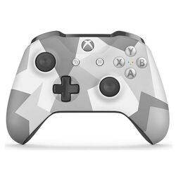 Microsoft Xbox One S Wireless Controller, winter forces (Special Edition)