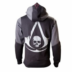 Mikina Assassin's Creed 4: Black Flag, black XL