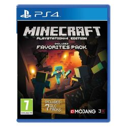 Minecraft (PlayStation 4 Edition Favorites Pack)