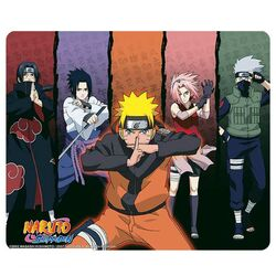 Naruto Shippuden Mousepad - Group na progamingshop.sk