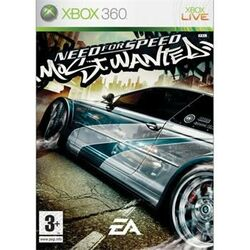 Need for Speed: Most Wanted- XBOX 360- BAZÁR (použitý tovar)