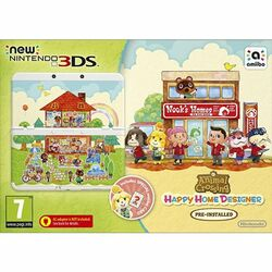 New Nintendo 3DS (Animal Crossing: Happy Home Designer Special Edition)