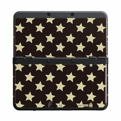 New Nintendo 3DS Cover Plates, black stars