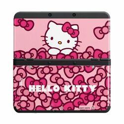 New Nintendo 3DS Cover Plates, Hello Kitty