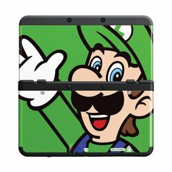 New Nintendo 3DS Cover Plates, Luigi