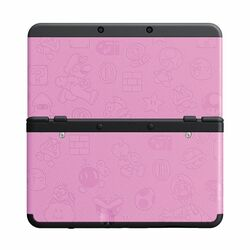 New Nintendo 3DS Cover Plates, Mario pink