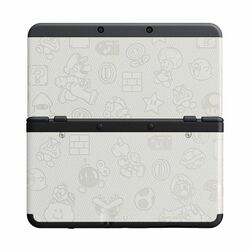New Nintendo 3DS Cover Plates, Mario white