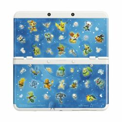 New Nintendo 3DS Cover Plates, Pokémon Mystery Dungeon