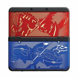 New Nintendo 3DS Cover Plates, Pokemon Omega Ruby/Alpha Sapphire