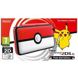Nintendo 2DS XL (Pokéball Edition)