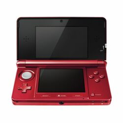 Nintendo 3DS, metallic red